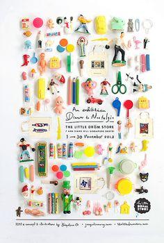 //dröm nov 2012 exhibition// Drawn to Nostalgia by Jacqueline O.