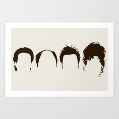 Buy Seinfeld Hair by Bill Pyle as a high quality Art Print. Worldwide shipping available at Society6.com. Just one of millions of products available.