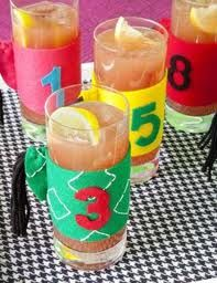 cute kentucky derby party idea...put on mason jars for decor.