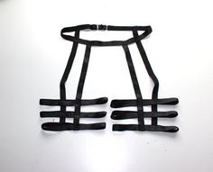 2014 SEXY Custom Black Unisex Thigh Three Strap Leg Garter Belt Cage Harness / Any Size / Made to Measure(China (Mainland)) Lingerie Design, Fashion Design Inspiration, Leg Harness, Diy Clothing, Unisex, Diy Fashion, Steampunk Fashion, Gothic Fashion, Thighs