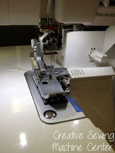 Inserting a zipper with your serger (Creative Sewing Machine Center Blog)