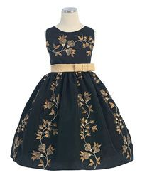Taupes and Champagnes - Flower Girl Dress For Less