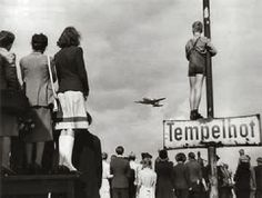 Tempelhof; legendary due to the Berlin Airlift