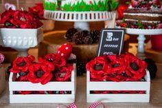 Senhora Inspiração! Blog: Festa Chapeuzinho Vermelho