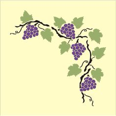 grape vine printable