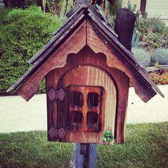 Cute wooden chalet style mailbox - @Carly Alyssa Thorne- #webstagram