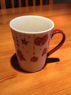 Modèle de tasse pour Noël