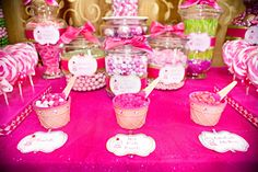 candy bar #party #girl #decor