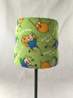 Adventure Time Lamp by BoxOfScraps on Etsy