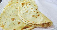 Receta fácil de tortillas de trigo muy rápidas de hacer e ideales para preparar, tacos, quesadillas, wraps, fajitas, rollitos ...