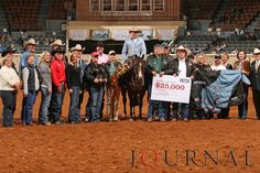 The 2008 Farnam Superhorse Award was presented to the 1999 AQHA stallion Roo Star, owned by Melissa Ann Miller of Belton, Texas. Visit http://www.AQHA.com/showing for more great American Quarter Horse showing news. (Journal Photo)