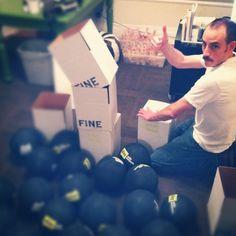 Inflating 500 playground balls? NBD.