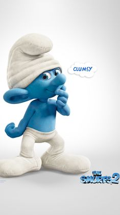 Clumsy The Smurfs 2 iPhone 5s Wallpaper Download | iPhone Wallpapers, iPad wallpapers One-stop Download