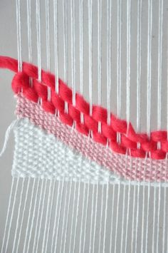 How to Weave Angles & Waves || The Weaving Loom