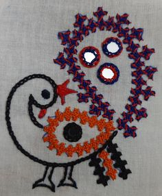 Hand Embroidery, Peacock, Fictional Characters, Design, Art, Art Background, Peafowl, Kunst, Performing Arts