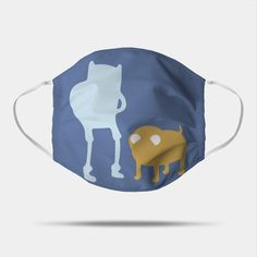 Finn and Jake - Adventure Time - Mask | TeePublic