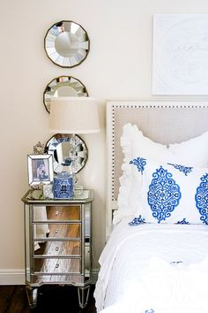 Master Bedroom Styled 3 Ways for Summer - Tips for Decorating Neutral Bedrooms - switch out your bedding and a few accessories to give your room a new look Guest Bedroom Decor, Budget Bedroom, Guest Bedrooms, Master Bedroom, Master Suite, Bedroom Ideas, Awesome Bedrooms, Beautiful Bedrooms, Neutral Bedrooms