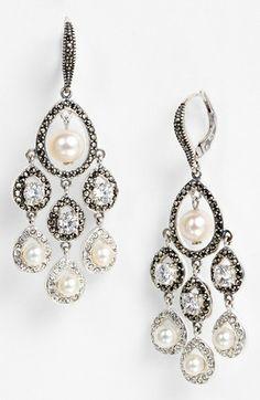 Judith Jack 'Pearlette' Chandelier Earrings | Nordstrom