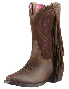 Ariat Gir'ls Fancy Fringe Boots