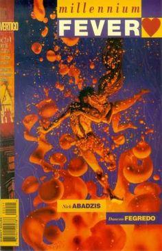 Millennium Fever #2 • Noviembre 1995 Portada: Duncan Fegredo