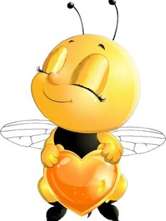 Biene_rechts_Augen_zu Bee Pictures, Baby Shower Pictures, Teddy Bear Cartoon, Cartoon Bee, Bee Drawing, Drawing For Kids, Emoji Images, Emoji Love, Animal Art Prints