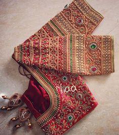 Cotton Saree Blouse Designs, Wedding Saree Blouse Designs, New Blouse Designs, Saree Wedding, Chennai, Blouse Desings, Diy Fashion, Indian Fashion, Fashion Dresses