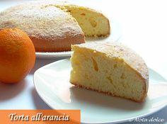 Torta all'arancia, ricetta dolce senza burro