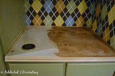 how to make a cheap wood countertop