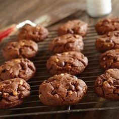 Peanut Butter Cocoa Cookies