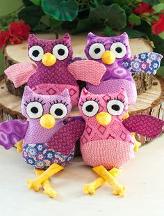 DIY: Owl Plushies + Free Sewing Pattern #craft