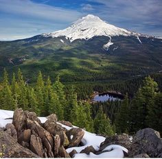 Tom Dick and Harry Mountain, Oregon