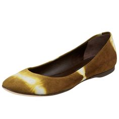 Reed Evins Women's Tie Dye Suede Ballet Flat * Check out this great product.