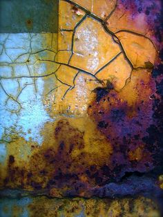 Here you'll find nearly 300 original abstract photographs organized into color-coded galleries. Peruse, enjoy, and order prints in sizes from tiny to enormous! Texture Design, Texture Art, Abstract Watercolor, Abstract Art, Lightning Images, Rust Paint, Peeling Paint, Rust Color, Colour