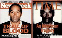 OJ-Simpson-case-Time-Newsweek-cover-mugshot-photoshop-darkened-picture