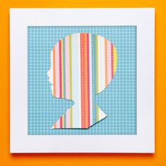 Paper Portraits   Crafts  