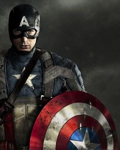 Captain America As Background Screen For Apple Watch If You Have An Apple Watch