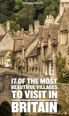 Of The Most Beautiful Villages To Visit In Britain! - Hand Luggage Only - Tra 17 Of The Most Beautiful Villages To Visit In Britain! - Hand Luggage Only - Tra. Of The Most Beautiful Villages To Visit In Britain! - Hand Luggage Only - Tra. Sightseeing London, London Travel, Places To Travel, Places To See, Travel Destinations, Travel Tips, Food Travel, Visit Britain, Britain Uk