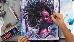 Udemi | Curs de pictura online – technici de desen – Peisaje, portrete, design – Gratuit Painting, Shopping, Painting Art, Paintings, Painted Canvas, Drawings