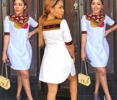 Learn About These Great traditional african fashion 8204 Short African Dresses, Latest African Fashion Dresses, African Print Dresses, African Print Fashion, Dress Fashion, Fashion Outfits, Fashion Models, Shweshwe Dresses, Ankara Dress Styles