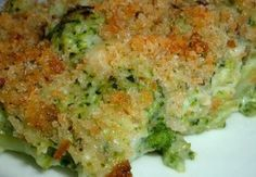 Broccoli gratinati   Ricette Italiane della Mamma