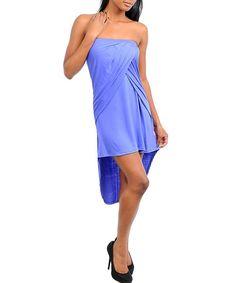$29.99 Womens Small Medium or Large Dress * NEW* Dark Purple Hi Low Dress CUTE ~~~~~~~~