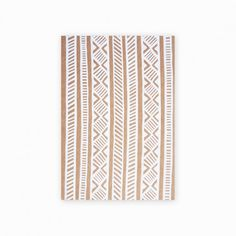 Beautifull African Pattern gracing the covers of Seven Swans Stationery cards  Credit: Seven Swans Stationery