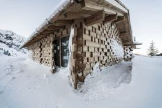 Zallinger: a scattered Hotel at high altitude in Italy by noa* network of architecture Wood Architecture, Amazing Architecture, Contemporary Architecture, Central Building, Light Pollution, South Tyrol, Ceiling Windows, The Great, Aster