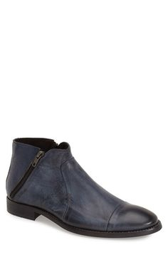 Bacco Bucci 'City' Zip Boot (Men) available at #Nordstrom