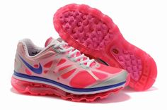 buy online 5ddba 158f8 Pink Nike Air Max running sneaks Nike Air Max 2012, Nike Air Max For Women