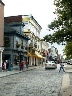 Newport, RI - shopping, mariner life, sailing, boating, fishing, seafood eating, and historical area.