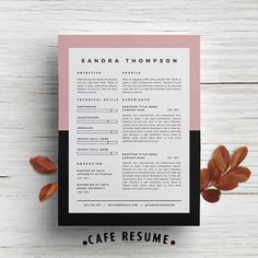 Creative Resume Template  Cover Letter Template for by CafeResume