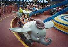 MUST DO: Dumbo has always been a classic ride for us!