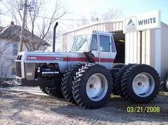 White tractors on pinterest tractors boss and fields - Craigslist farm and garden louisville ...