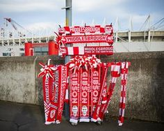 Middlesbrough scarves on sale
